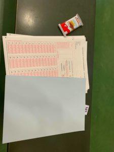 disposition des copies pour les étudiants